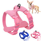 Dog Harness For Small Dogs Chihuahua Yorkie Adjustable Soft Leather Harness Vest