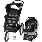 Baby Stroller & Car Seat Combo Outdoor Infant Comfort Travel Carriage Black NEW