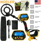 deep ground waterproof metal detector gold finder lcd display shovel search coil