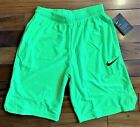 Купить New With Tags Mens Nike Athletic Gym Muscle Logo Shorts Dri-Fit RUNS SMALL