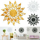 3d Sun Mirror Acrylic Wall Stickers Decal Reflective Sticker Decor Home Bedroom