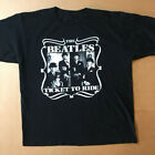 The Beatles Ticket To Ride Tour Rock Band Black Unisex All Size T-shirt 1A897