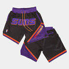 Classic Phoenix Suns Basketball Shorts with Pockets