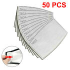 50 Pack PM2.5 Activated Carbon Filters 5 Layer Replacement For Face Mask Cover