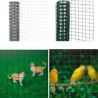 Galvanised Steel Square Welded Mesh Wire Net Fence Chicken Coop Aviary Hutch Net