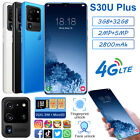 6.8 In S30u+ 4g Lite Smartphone 3gb Ram 32gb Mt6537a Android Quad Core Gps Phone