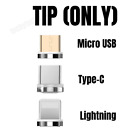 3 in 1 Magnetic Micro USB Type C iPhone Android 3A Data Sync Fast Charging Cable