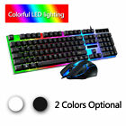 Gaming Keyboard and Mouse Set for Working or Gaming RGB Colorful Backlit