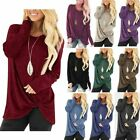 Kyпить Fashion Womens Tunic Tops Long Sleeve Casual Loose Tops Blouse Shirt T-Shirt на еВаy.соm
