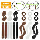 4-Shape Silicone Eyeglasses Hooks Grip Temple Tips Glasses Retainers Anti Slip