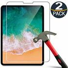 2-Pack Tempered Glass Screen Protector For Apple iPad Pro 11 inch 2018/2020