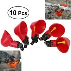 10/20* Pigeon Automatic Nipple Drinker Chicken Poultry Screw Drinking Water Bowl