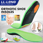 Orthotic Shoe Insoles High Arch Support Inserts for Plantar Flat Feet Fasciitis