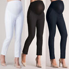 Pencil Pants Protection Maternity Elastic Belly Leggings Pants Pregnant Trousers