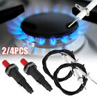 Universal Piezo Spark Igniter Push Button Gas Fireplace Outdoor Grill BBQ Stove