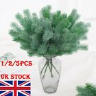 16 Fork Pine Needle Branch Artificial Pine Plants Christmas Tree Decor Home