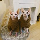 2020 New Turtleneck Cat Wear Cat Clothes Suitable for Skinny and Hairless Cats