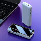 USA Portable 900000mAh Power Bank External Dual USB Battery Charger For Phone