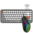 308I Wireless Bluetooth Keyboard and RGB Wired Lightweight Gaming Mouse Combo US
