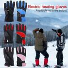 Electric Heated Gloves Rechargeable Warm Thermal Heating Gloves For Skiing Fish