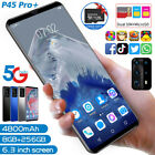 2020 Android 10.0 Mobile Phone 6.3 Inch Smartphone P45 Pro+ 8gb+256gb Recognitio