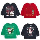 Baby Santa Snowman Penguin Christmas Sweater Xmas Jumper 6 to 18 Months