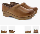 Dansko Professional Clog Honey Distressed Women's sizes 36-43/6-13 NEW