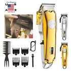 Professional Cordless Men Hair Clipper Trimmer Rechargeable Digital LCD Display