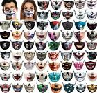 Hot Funny Face Mask 3d Printed Breathable Washable Mouth Protection Reusable