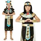 Boys & Girls Cleopatra Costume Egyptian Prince Pharaoh Kids Fancy Dress Outfit B