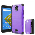 Phone Case For Wiko Ride 2 U307AS Brush Dual-Layered Cover