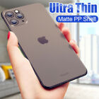 Ultra-thin Matte Clear Hard Slim Cover Case For Iphone 11 Pro Xs Max X Xr 8 7 6
