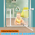 Внешний вид - Guardrail Baby Safety Gate Door Metal Walk Thru Pet Dog Cat Fence Child Toddler