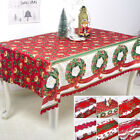 Christmas Tablecloth Dustproof Thanksgiving Table Cover Home Party Decor Xmas