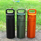 Survival Waterproof Pill Case Capsule Airtight Seal Bottle Container Box