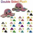 Double Sided Flip Reversible Soft Octopus Plush Toy Stuffed Animal Doll Gift Kid