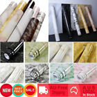 10m Marble Self Adhesive Wallpaper Kitchen Furniture Wall Sticker Contact Paper