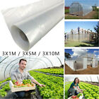 CLEAR PLASTIC GREENHOUSE FILM 1-20M COVER PLASTIC COVERING SHEET REPLACEMENT