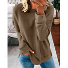 Women Casual Long Sleeve T Shirt Blouse Loose Pullover Tunic Tops Tee Plus Size
