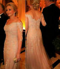 Champagne Mother Of The Bride Dresses Long Formal Wedding Evening Gowns Lace