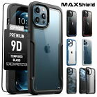 MAXSHIELD For iPhone 12 Pro Max Mini Case Heavy Duty Shockproof Clear Slim Cover