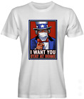 Uncle Sam Stay Home Graphic Tee
