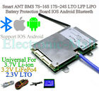 Smart ANT BMS 7S 16S 17S 24S LTO LFP Lipo Battery Protection Board IOS Android
