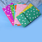 10*Popcorn Candy Gift Stand Up Dot Wrapper Bag Packing Pouch Kraft Paper Pack*sh