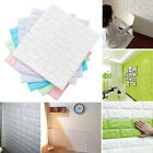New 1pc 3d Wall Stickers Imitation Brick Self-adhesive Wallpaper Home Decor