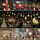 Christmas Xmas Removable Shop Window Stickers Art Decal Wall Home Decor Rc