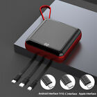 900000mAh UltraThin Dual USB Portable Power Bank External Battery Backup Charger
