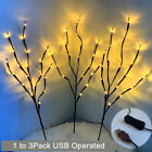 LED Night Lights Branch Willow Fairy Light Christmas Decoration Lights Ornament
