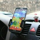 Car Air Vent Mount Cradle Holder Stand for Samsung Galaxy iPhone Android US