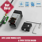 30W/40W CNC Laser Module head fits Laser engraver cutting machine Cutter printer